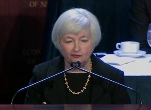 News video: Yellen Signals Rate Hikes at Least Two Years Away