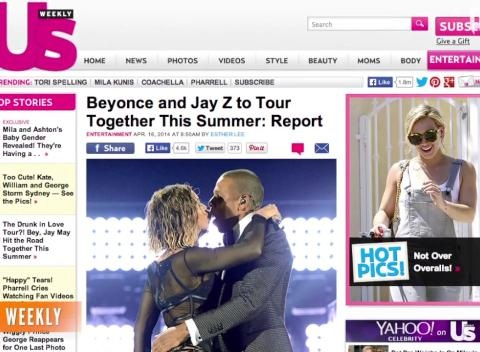 News video: Jay-Z, Beyonce Rumored To Kick Off Joint Tour This Summer