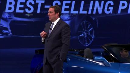 News video: Premiere of 2015 Chevrolet Corvette Z06 Convertible at 2014 NY Auto Show